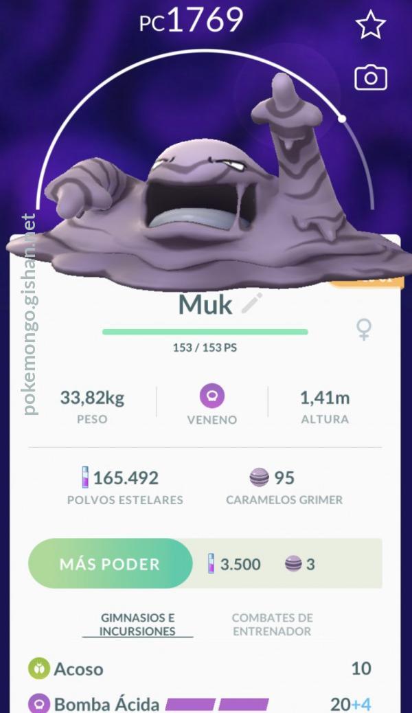 Muk Pokemon Go