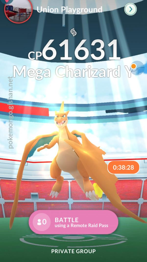 Mega Charizard Y Raid Boss Pokemon Go